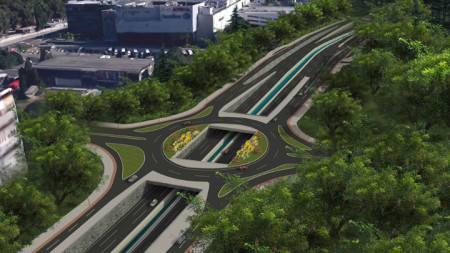 Част от проекта на новия бул.