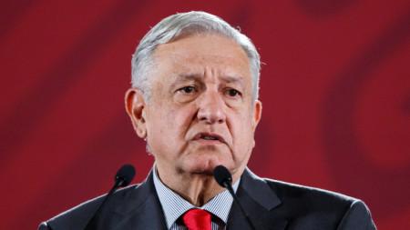 Андрес Лопес Обрадор, президент на Мексико