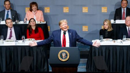 Изказване на Доналд Тръмп пред Икономическия клуб на Ню Йорк
