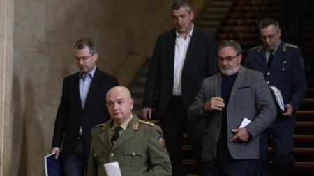 Националният оперативен щаб даде брифинг в Министерския съвет