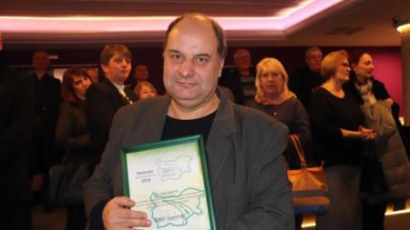 Директорът на БНР Бургас Кирил Костадинов.