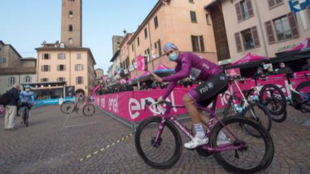 Британец с втора победа в обиколката на Италия
