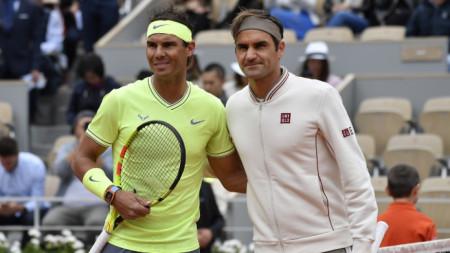 Надал и Федерер се срещат за 40-и път днес.