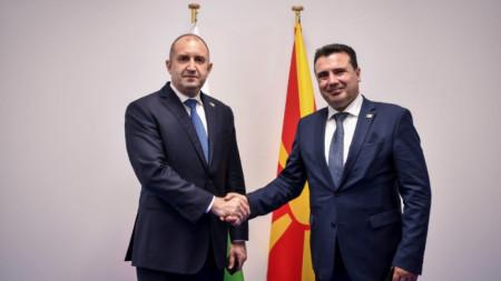 Zoran Zaev dhe Rumen Radev