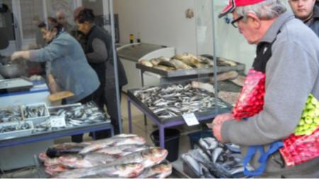 Рибна борса, Варна