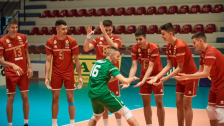 Национален юношески отбор на България