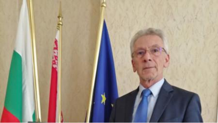 Bulgarian ambassador to Belarus Georgi Vasilev