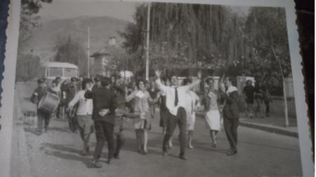 Сватбата на Цветанка и Иван Кимчеви преди 50 години