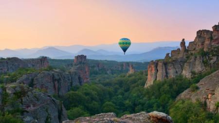 Полет над Белоградчишките скали