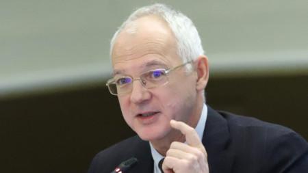 Vasil Velev, chairman of the governing board of BICA