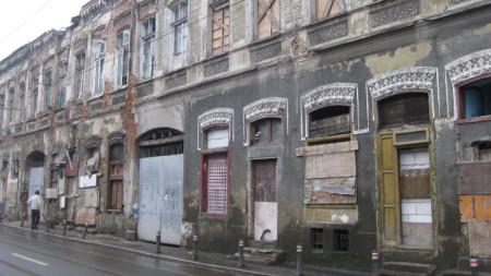 Къщата в Букурещ, където живее и твори Любен Каравелов.