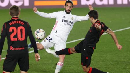 Реал (Мадрид) - Реал Сосиедад