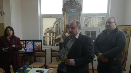 Директорът на БНР - Бургас получи благодарствената грамота