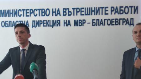 Началникът на ОД МВР - Благоевград Дойчин Дойчинов