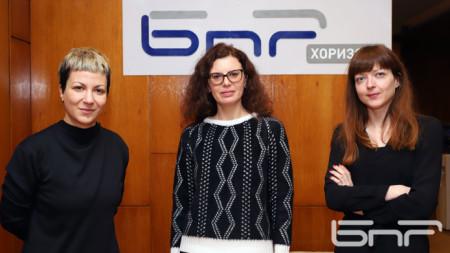 Венета Андрова, Гергана Куцева, Стефка Цанева