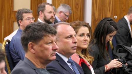 """Министърът на земеделието, храните и горите Румен Порожанов при откриването на Петата среща на земеделските камари от регион """"Три морета"""". За първи път България е неин домакин в лицето на Националната асоциация на зърнопроизводителите."""