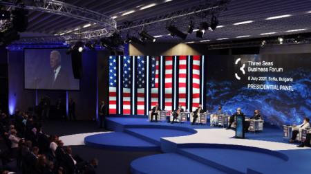 Президентът на САЩ Джо Байдън направи видеообръщение към срещата на върха по инициативата в София.