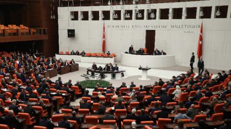 2 януари 2020 - Турският парламент прие резолюция за изпращане на военни части в Либия