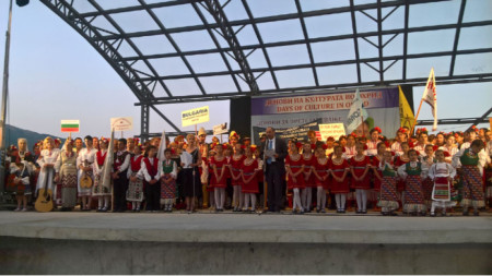 Bulgaria's Ambassador to North Macedonia, Angel Angelov opened the Days of Bulgarian Culture and Folklore – Ohrid 2019