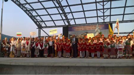 Der bulgarische Botschafter in Nordmazedonien, Angel Angelow, eröffnete die Tage der bulgarischen Kultur, Folklore und Traditionen - Ohrid 2019
