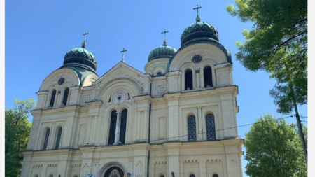 The St. Demetrius of Thessaloniki church in Vidin
