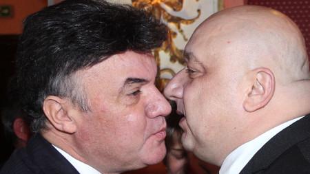 Красен Кралев и Борислав Михайлов