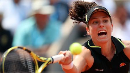 Йохана Конта е на първи полуфинал в Париж.