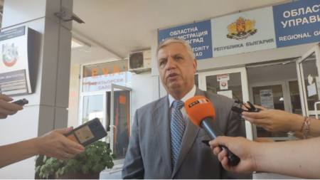 Николај Шушков, управник области Благоевград