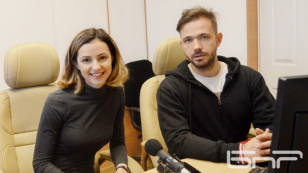 Валентина Каролева и Алекс Алексиев