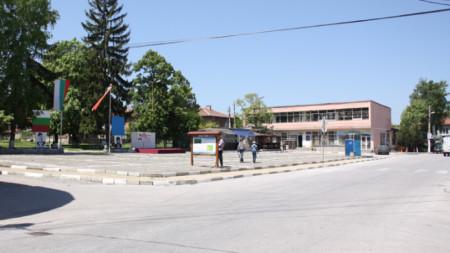Централният площад на Радилово