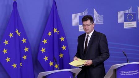 Eurokominioneri për menaxhimin e krizave Janez Lenarçiç