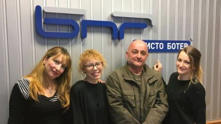 Мьрия Мира Христова, Станислава Николова, Веселин Боришев и Габриела Василева