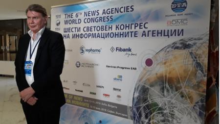 Ерик Уишарт - главен редактор на специалните проекти на АФП, Франция