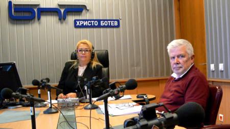 Анелия Торошанова и адв. Любомир Новиков