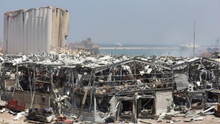 Експлозия в Бейрут, Ливан