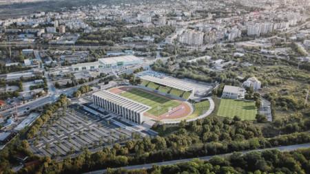 Проект на новия стадион