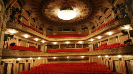 Nationaltheater in Sofia, Zuschauerraum