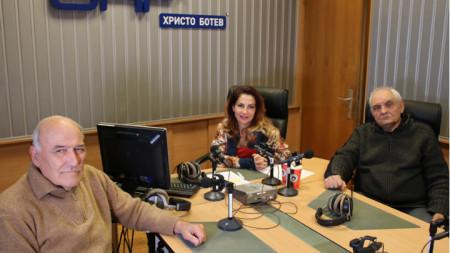 Коста Филипов, Ива Дойчинова и Димитър Димитров