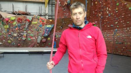 Дойчин Боянов, алпинист