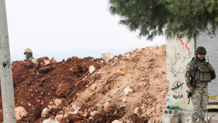 Турски военни в Сирия
