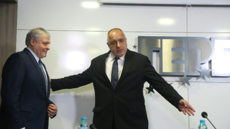 Бойко Борисов се срещна с Румен Христов