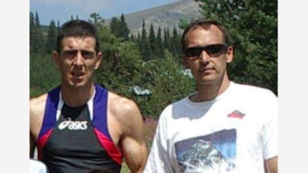 Кирил Досков и Николай Петков, Белмекен, 2003 г.