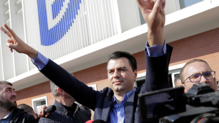 Опозиционният албански лидер Лулзим Баша