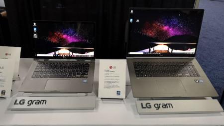 лаптоп LG gram 17