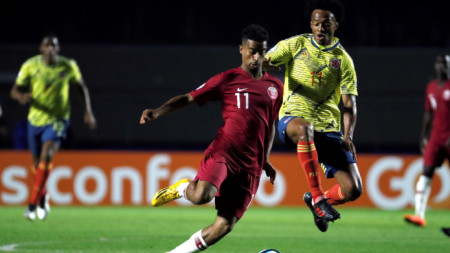 Акрам Афиф (№11) е най-добрият футболист на Азия.