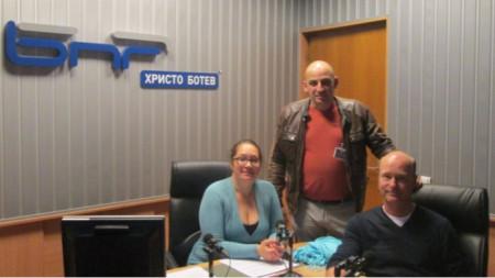 """Любомира Константинова, Ивайло Шопски и Патрик Смитьойс в студиото на """"Нашият ден"""""""