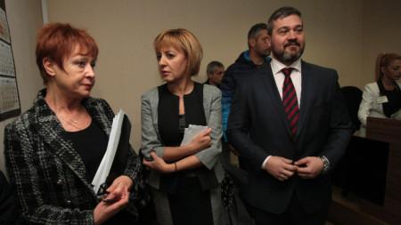 Административен съд – София гледа делото на Мая Манолова за касиране на изборите за кмет на столицата.