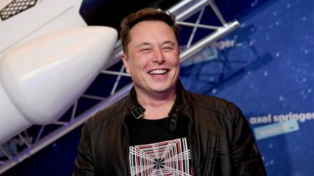 Главният изпълнителен директор на SpaceX Илон Мъск.