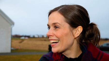 Министър-председателката на Исландия Катрин Якобсдотир