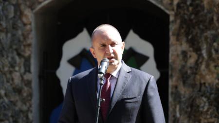 Президентът Румен Радев в Плевен
